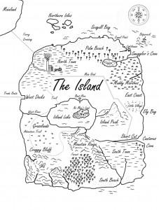 Island-map